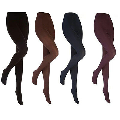Heat Holders - Ladies Thick Winter Warm Opaque Fleece Lined Thermal Tights