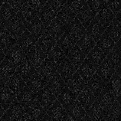 10 foot Section of Black Suited Polyester Speed Cloth