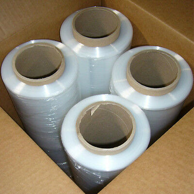 "1 Case 80ga. Pallet Wrap Stretch Film Hand Wrap 18"" x 1500'  4 Rolls/Case"