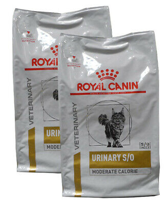 2x9kg Royal Canin Urinary S/O Moderate Calorie