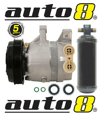 New Air Conditioning Compressor & Drier To Fit Holden Calais 3.8L V6 (VT VX VY)