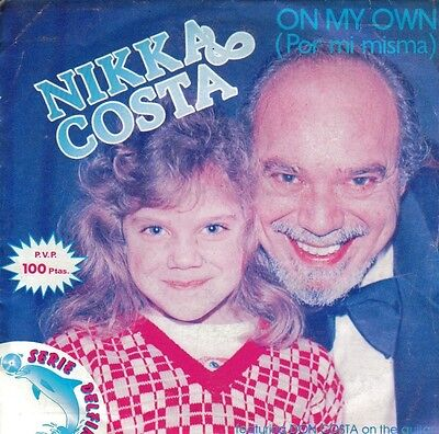 Nikka Costa-On My Own + Chained To The Blues Single Vinilo 1981 Spain