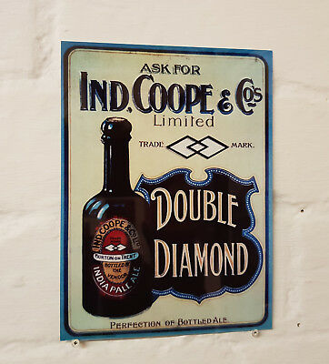 Double Diamond Beer Retro metal Aluminium Sign vintage pub bar signs man cave
