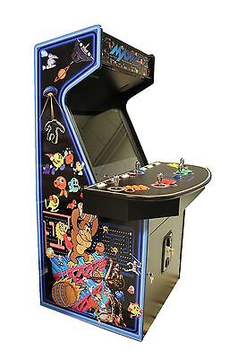 """2 Player 32"""" Multi-Game Retro Home Classic Video Arcade #1 Rated MAME(tm) Ready"""