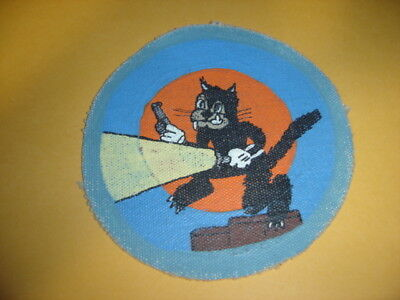Wwii Usaaf 548 Night Fighter Sqdn 7 Aaf  Patch