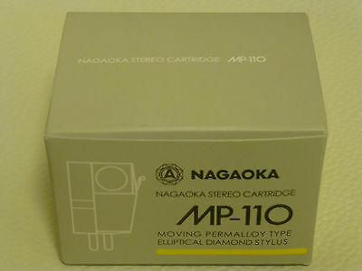 NAGAOKA Phono Stereo Cartridge MP-110 MP110 Japan NEW