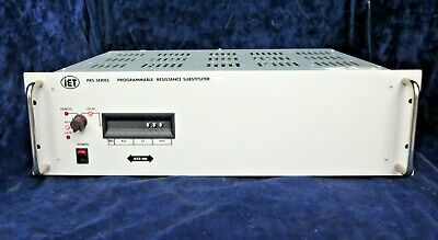 IET Labs Inc. PRS-GC01, PRS-202 Series Programmable Resistance Substituter Unit