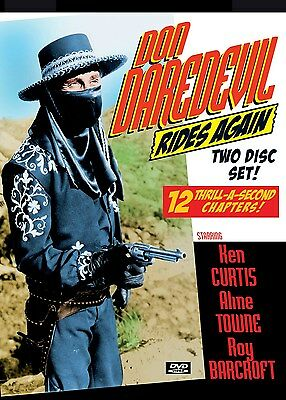 DON DAREDEVIL RIDES AGAIN - Cliffhanger serial with EXTRAS! 2 disc DVD-