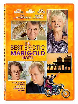 The Best Exotic Marigold Hotel [DVD 2012], Free Shipping, New