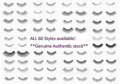 Ardell Strip Lashes 100% Human Hair All Styles Free Uk P&p Genuine Eyelashes