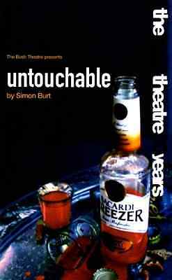 Untouchable (Oberon Modern Plays) - Paperback NEW Burt, Simon 2002-12-03