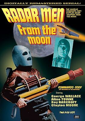 RADAR MEN FROM THE MOON- Cliffhanger Serial DVD with Extras- ROCKETMAN