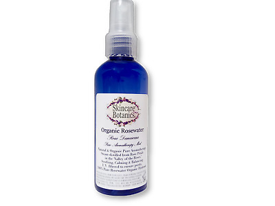 Organic All Natural  Rosewater Hydrosol - True Rose water