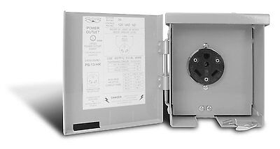 Electric 50 Amp 120 240 Volt RV Power Outlet Camper Motorhome Receptical Box NEW