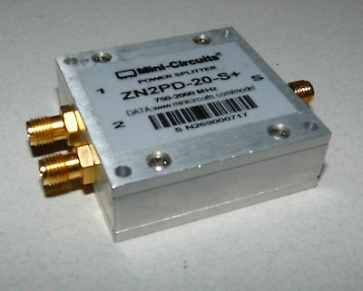 Mini-Circuits Zn2Pd-20-S+ Power Splitter Combiner Sma Connect Powerwave