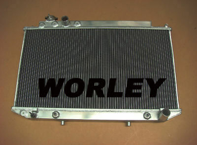 3 core aluminum radiator for Toyota Cressida MX83 1989-1993 Automatic & Manual
