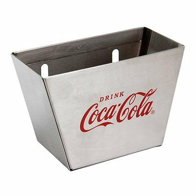 TableCraft Coca-Cola / Coke Stainless Steel Wall Mount Bottle Cap Catcher