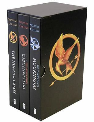 NEW The Hunger Games Trilogy Boxed Set Catching Fire Mockingjay Suzanne Collins