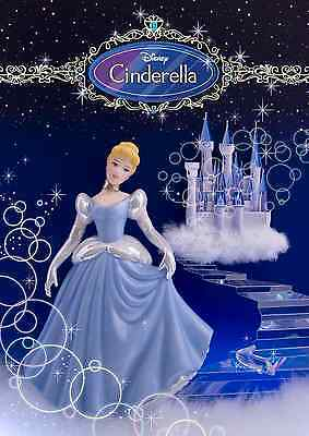 Disney Cinderella 3D Lenticular Greeting Card - Disney Amazing 3D Postcard