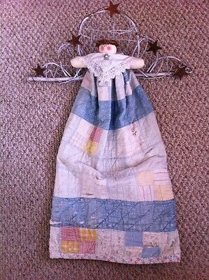 Handmade Antique Quilted Skirt Angel