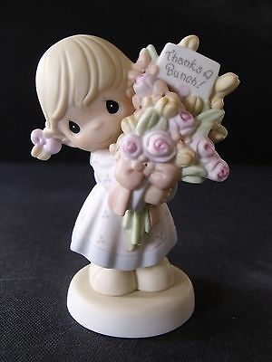 "PRECIOUS MOMENTS ""THANKS A BUNCH"" -#C-0020/#C-0120- CLUB MEMBER EXCLUSIVE - NIB"