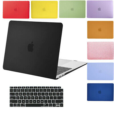 Mosiso Apple Macbook Air 11 13 Laptop Rubberized Hard Shell Cover Case 2012-2018