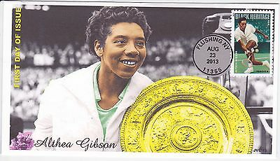 Jvc Cachets - 2013 Althea Gibson Black Heritage #1 First Day Cover Fdc