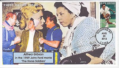 Jvc Cachets - 2013 Althea Gibson Black Heritage #3 First Day Cover Fdc