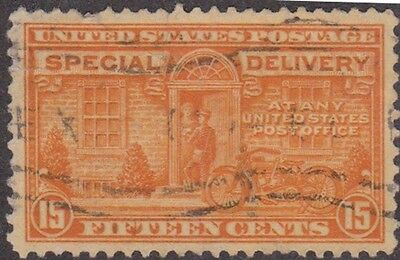 (RE26)1885-1922 USA (A)special delivery 4stamps10c&15c