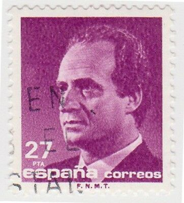 (SPA112) 1985 Spain 27p mauve ow2858