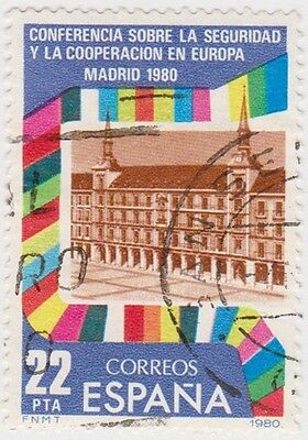(SPA64) 1980 Spain 22p Madrid 1980 ow2628
