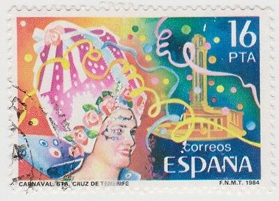(SPA92) 1984 Spain 16p festivals fine used ow2757
