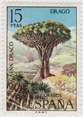 (SPB147)1973SPAIN15pdracaena(corner crease)f/usd ow2182