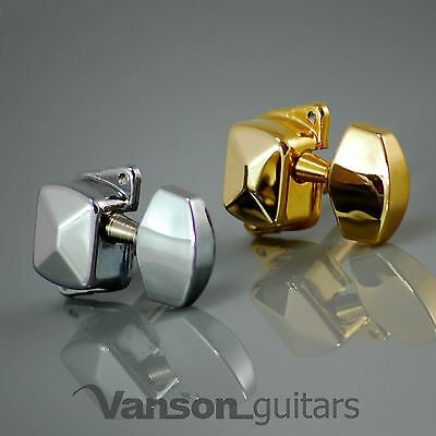 NEW Vanson VN21 Tuners Machine heads for Acoustic or Electric, Squier Bullet etc