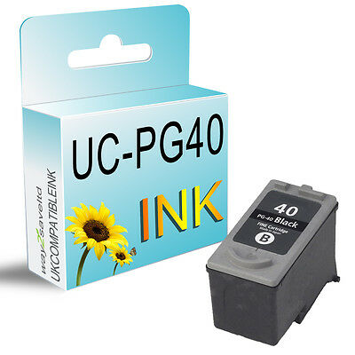 1 Black Ink Cartridge for PG40 Fax JX200 MultiPass 450 MP150 MP160 MP170