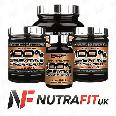 SCITEC NUTRITION 100% creatine monohydrate powder
