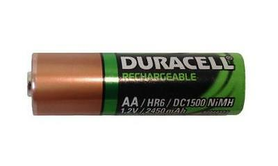 16 x AA 2450 mAh Duracell (HR6 / DC1500) NiMH Rechargeable Batteries