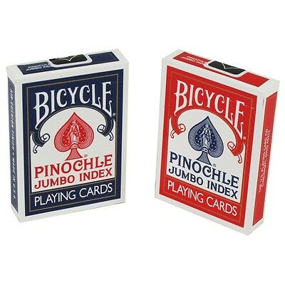 12 Decks of Bicycle Pinochle Jumbo Index Playing Cards Brand New