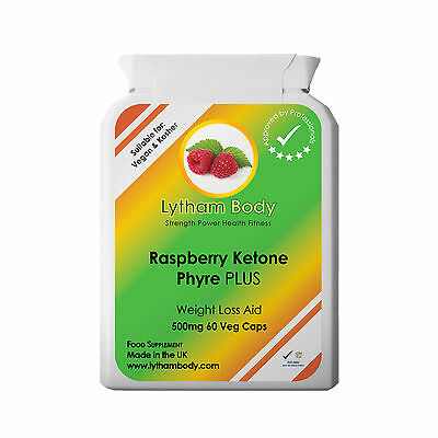 Raspberry Ketone Plus 60 X 500Mg Per Capsule Weight Loss Diet Detox  Fat Burner