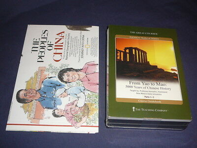 Teaching Co Great Courses CDs           FROM YAO to MAO         new + BONUS