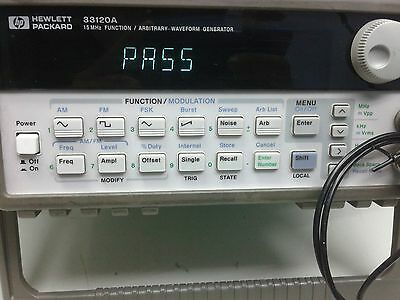 HP/Agilent 33120A Function / Arbitrary Waveform Generator