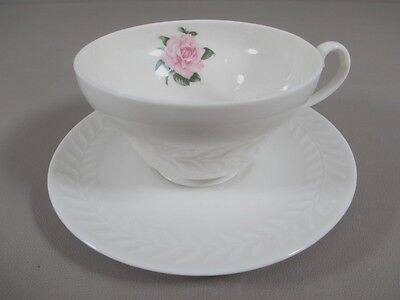 Theodore Haviland ROSE (REGENTS PARK) Cup and Saucer Set