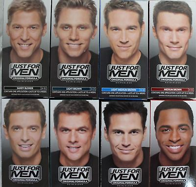 Just For Men Original Formula Male Hair Colour Colourant Dye - Double Packs