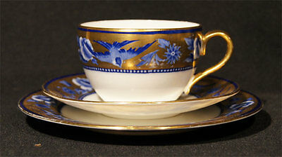 C.1910-1916 SHELLEY LATE FOLEY TRIO SWALLOWS BUTE SHAPED CUP PAT NO. 8190
