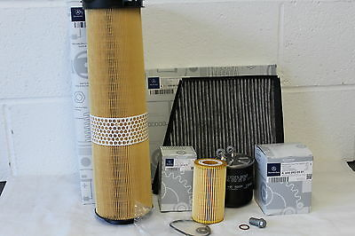 Genuine Mercedes-Benz W211 E-Class E200 E220 E270 Diesel Filter Service Kit NEW!