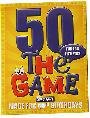 50th Birthday Gift Idea - a card game especially for 50ths! Plus 50th gift wrap!
