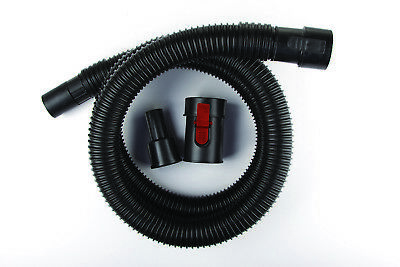 """WORKSHOP Wet Dry Vacs WS17820A 1-7/8"""" x 7' Locking Hose for Wet Dry Shop Vacuum"""