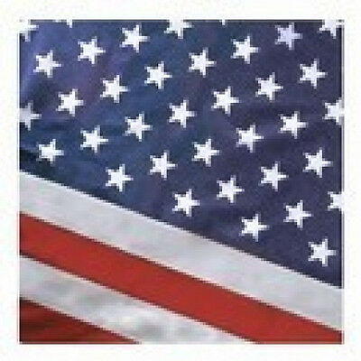 2.5x4 FT US American Flag Pole Sleeve Banner Style Valley Forge Commercial Poly