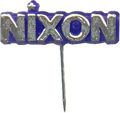 Vintage 1968 Richard NIXON Campaign Lapel Pin (7043)