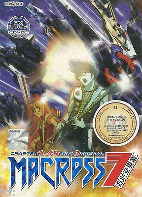 Macross 7 (TV 1 - 49 End + 3 Special) DVD + Free Gift